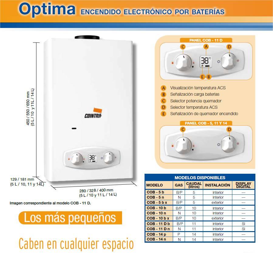 Precios termos de gas excellent calentador paso lt gas - Precios de termos de gas ...