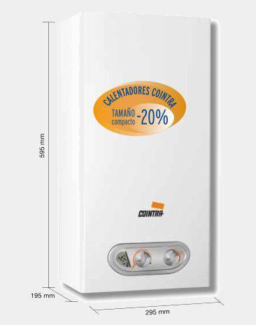 Calentador de gas butano cointra supreme 11vib - Calentador de butano ...