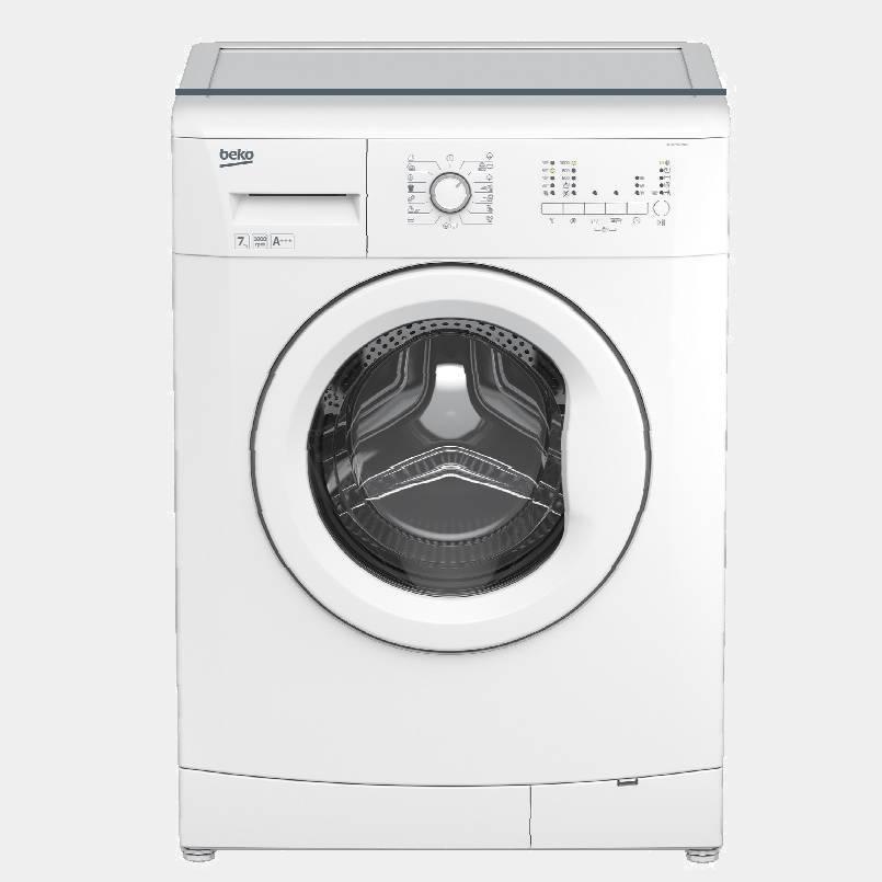 lavadora de 7kg beko wtv7501bw0 1000 rpm a. Black Bedroom Furniture Sets. Home Design Ideas