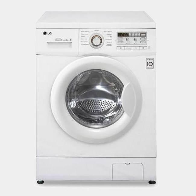 Lavadora de 7kg LG FH4B8QDA 7kg 1400 rpm A+++