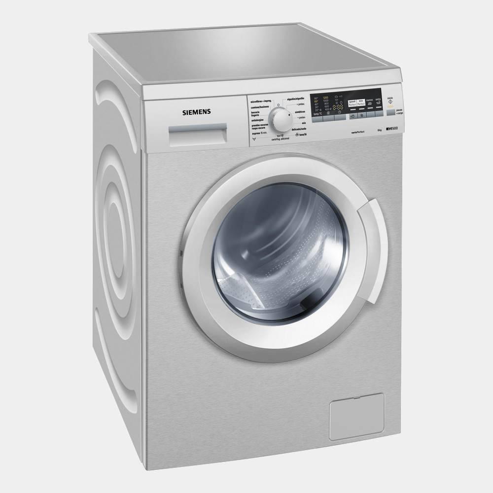 Lavadora de 8kg Siemens WM12Q48XES 1200 rpm A+++