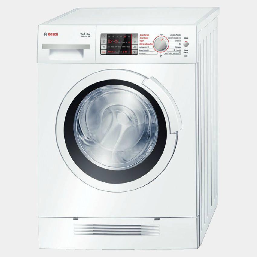 Lavasecadora Bosch WVH28460EP 7k 1400r A-10% Display