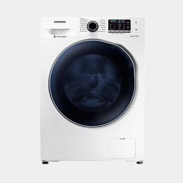 Lavasecadora Samsung Wd80j5430aw inverter 8k/6k 1400 rpm