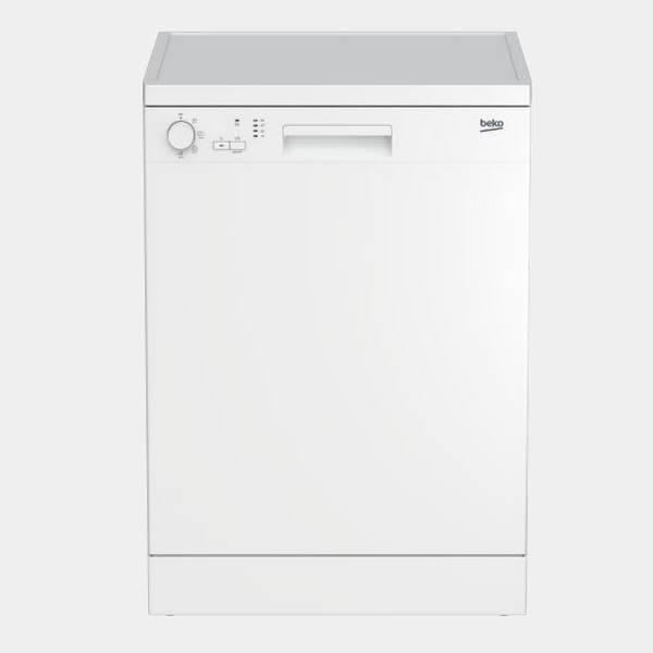 Lavavajillas Beko DFC04210W 4 programas blanco A+