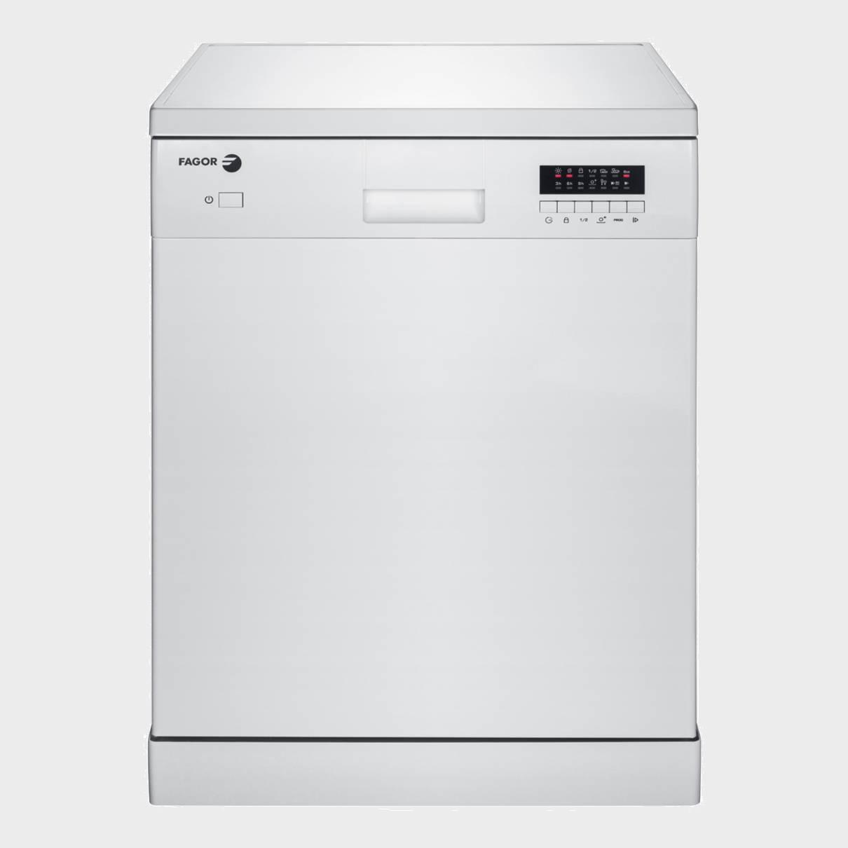 Fagor lvf11a lavavajillas blanco a - Lavavajillas de encimera ...