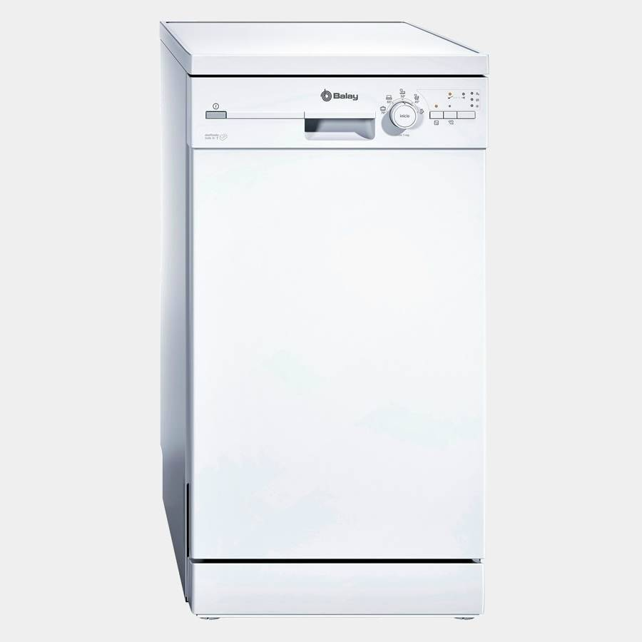 lavavajillas de 45 cm balay 3vn302ba blanco a