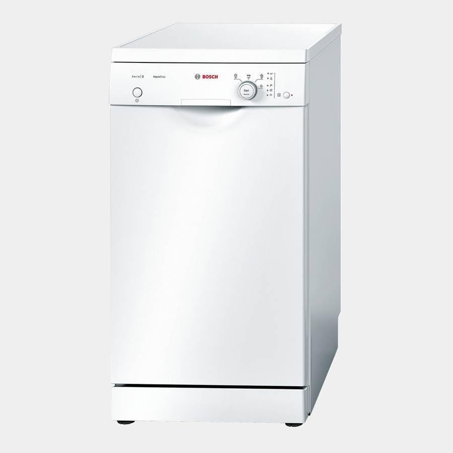 lavavajillas de 45 cm bosch sps40e72eu blanco a