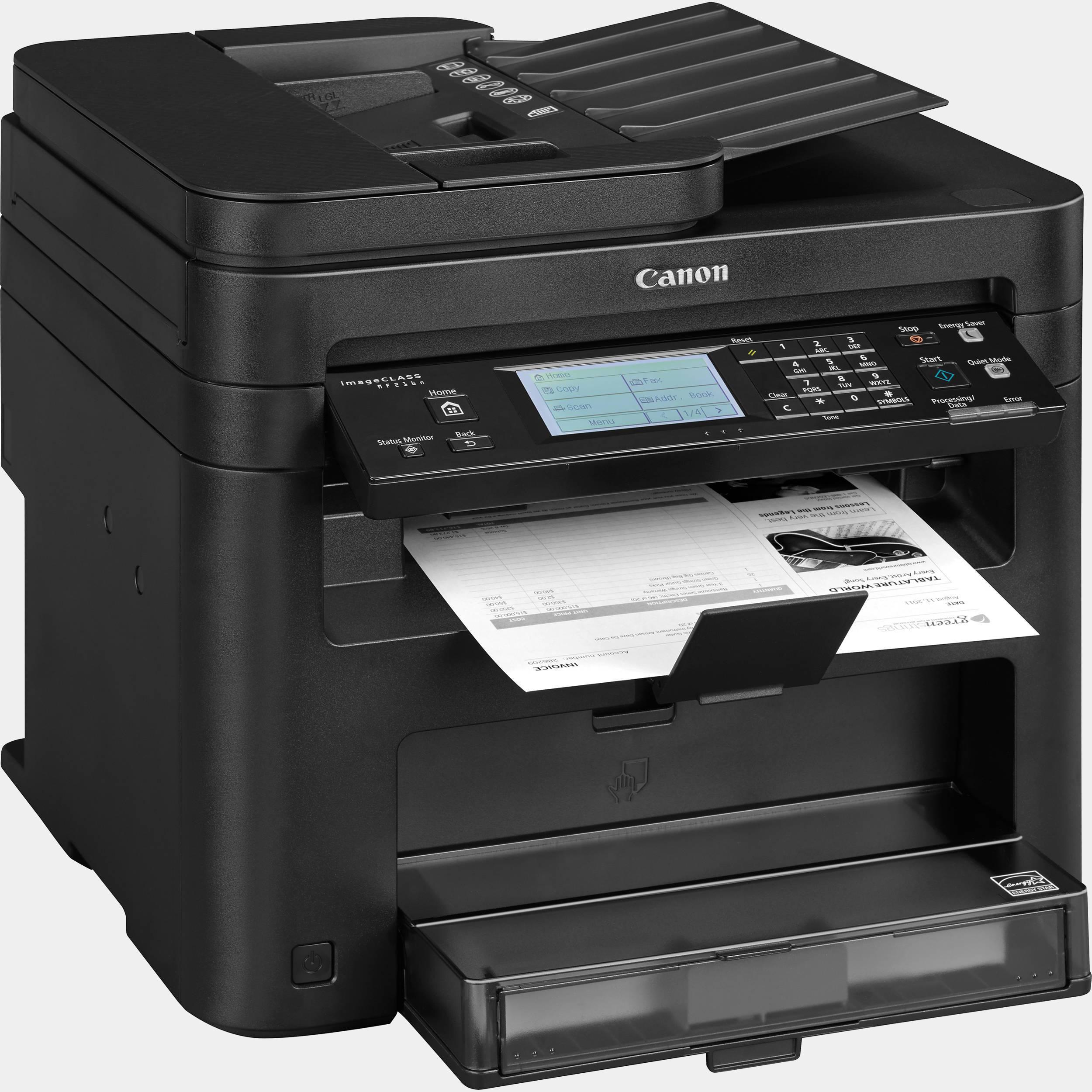 Canon I-sensys Mf216n Negra multifuncion laser monocromo