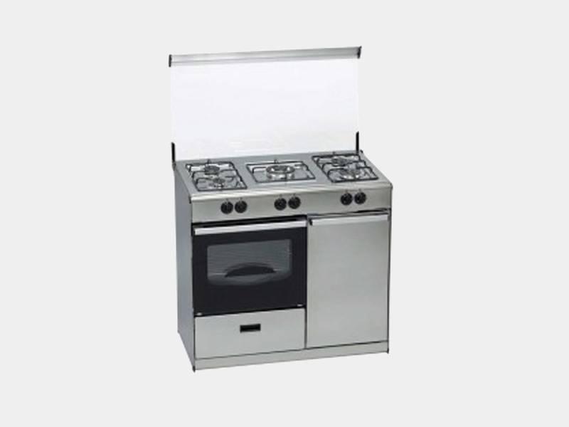 Tensai v 1052 tcx natural 5fg inox 89x55x86 cocina de gas - Cocinas de gas natural ...