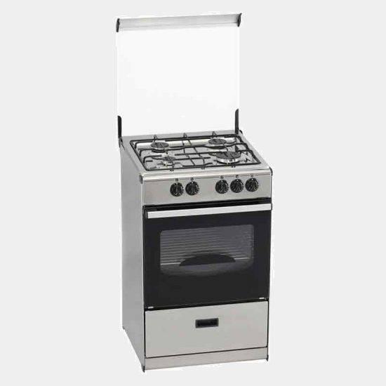 Tensai v 1053 x butano 4f inox 52x55x86 cocina de gas for Cocinas de gas butano