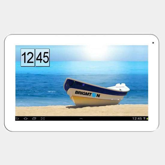 Tablet Brigmton Btpc-1017dc blanco de 10 Dual Core
