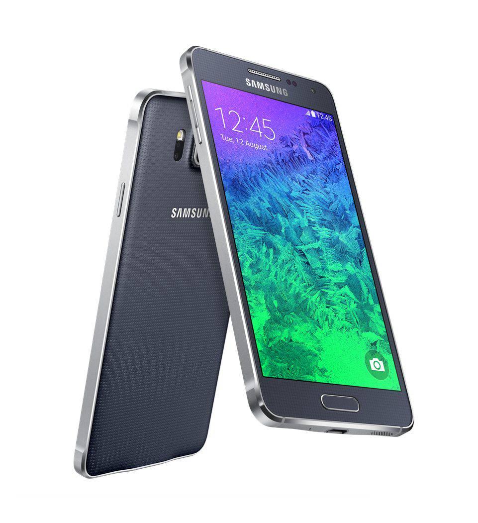 Telefono Libre Samsung Galaxy Alpha negro G850f