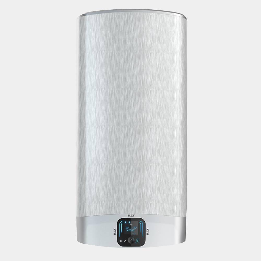Fleck duo 7 de 50 litros termo electrico plata for Termo electrico ariston