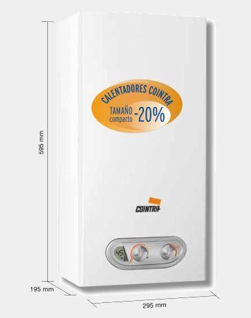 Calentador de gas butano cointra supreme 11b - Calentador de butano ...