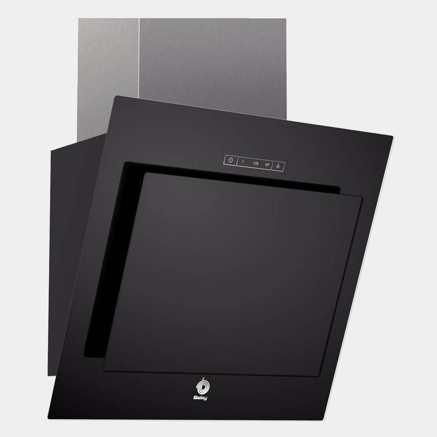 Campana decorativa balay 3bc8855n 55cm cristal negra touch - Campanas extractoras opiniones ...