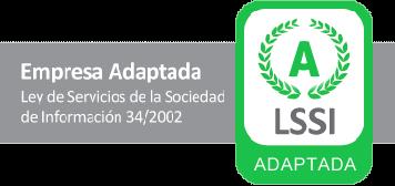 Empresa adaptada a la LSSSI