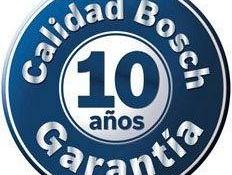 10 años de garantia en electrodomésticos Bosch