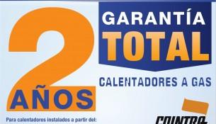 2 años de garantia calentadores Cointra