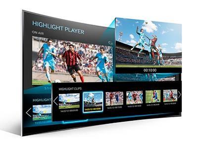 Samsung UE55H8000 - Modo Futbol Avanzado