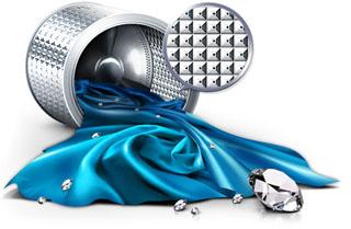 Tambor diamante de las lavadoras Samsung