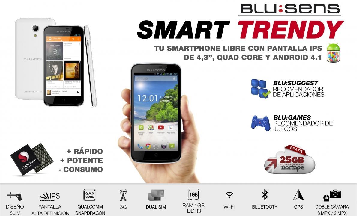 ab1d581c400 Blusens Trendy, telefonía sin ataduras