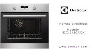 Horno pirolitico Electrolux EZC2430AOX