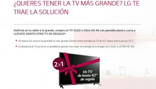 Promocion televisores LG OLED-4K
