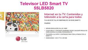 Televisor LG 55LB5820