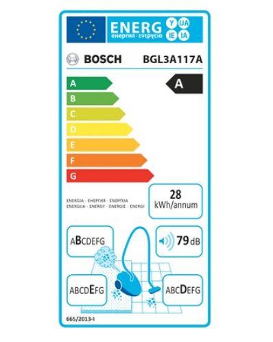 Bosch BGL3A117A clase energetica