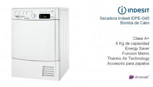 secadora indesit Idpe G45 A1