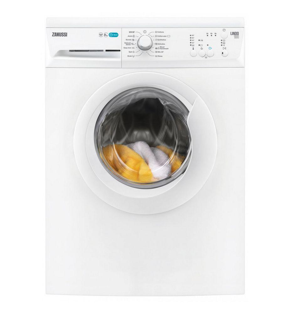 Lavadora zanussi zwf81240w multitud de programas y funciones for Cuanto pesa lavadora