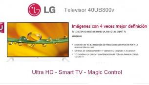 televisor 4k LG 40UB800V