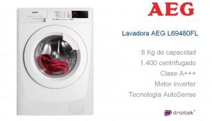 AEG L69480FL lavadora
