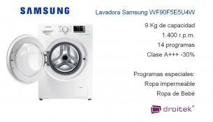 Lavadora Samsung WF90F5E5U4W