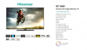 Televisor Hisense 55k681