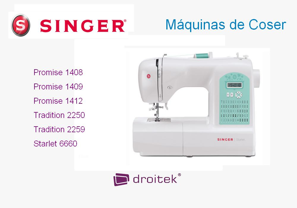 M quinas de coser singer comparativa y precios for Maquinas de aire acondicionado baratas