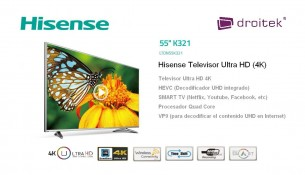 Televisor Hisense 55K321
