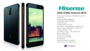Telefono Hisense King Kong