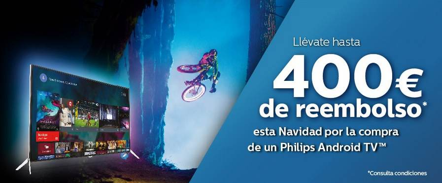 Promoción Phlips 400€