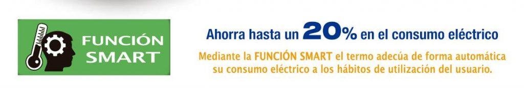 Funcion Smart del termo eléctrico Cointra TDG plus