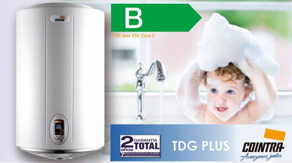 Termo electrico Cointra TDG plus de 80 litros