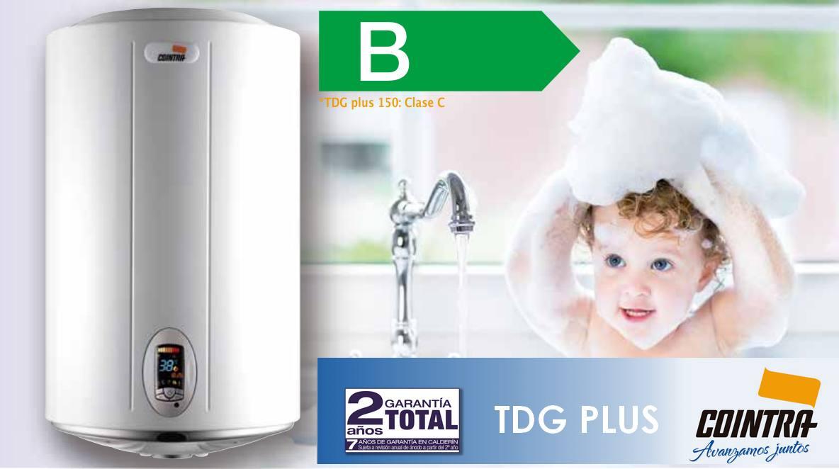 Termo el ctrico cointra tdg plus mejor eficiencia m xima for Mejor termo electrico