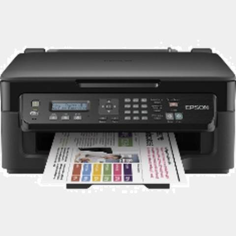 Multifuncion Epson Inyeccion Color Workforce Wf2510wf A4 / 34pppm / 18