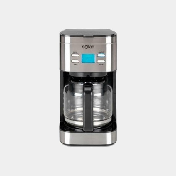 Solac Cf4028 15t Inox cafetera de goteo Programable