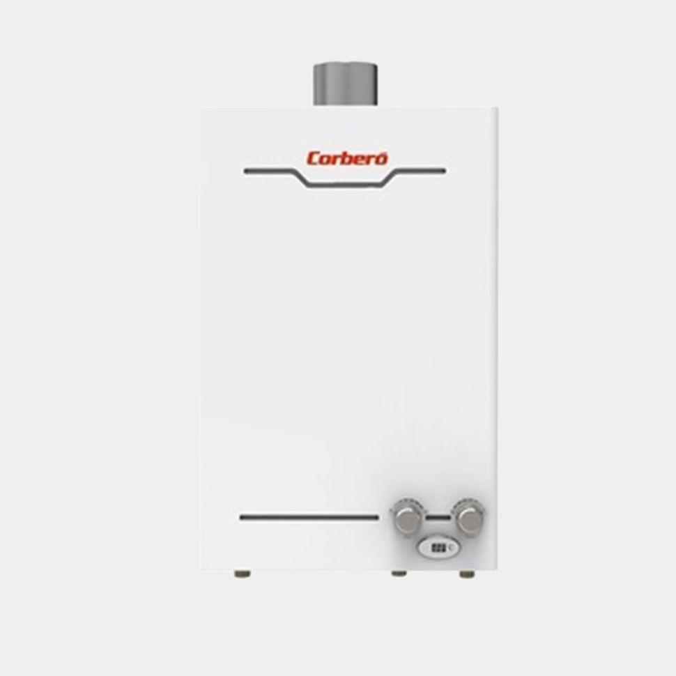 Corbero ccest10bn calentador estanco de gas butano automatico - Calentador de gas butano barato ...