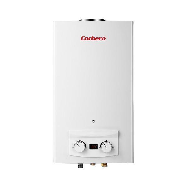 Corbero cce120gn calentador de gas natural 12 litros - Calentador gas natural ...
