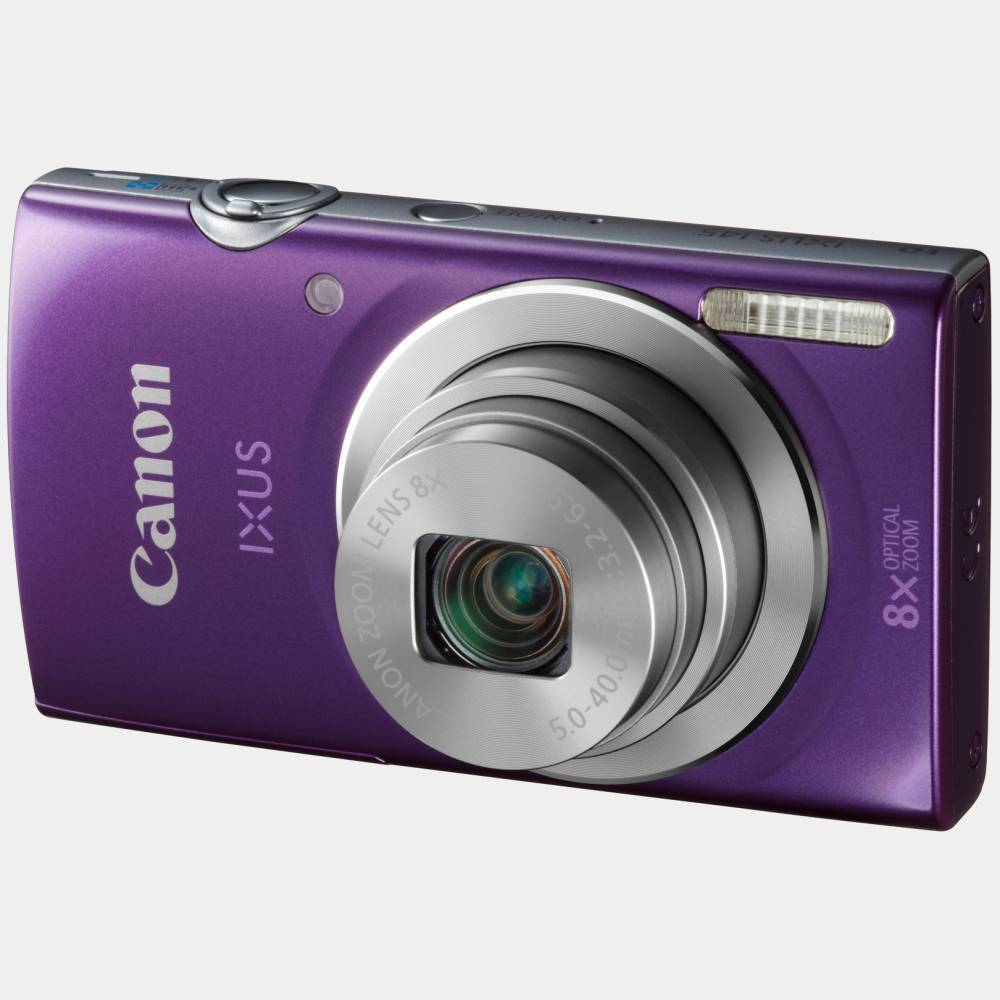 Camara Canon Ixus 145 16mp/8x/hd Violeta Funda+4gb