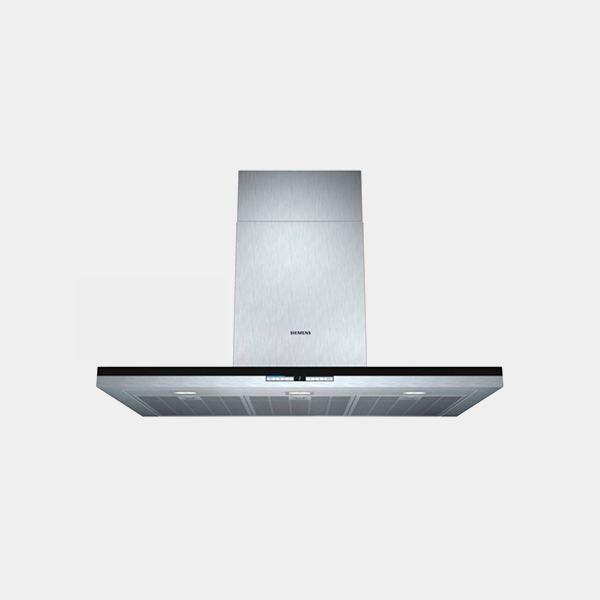 Siemens lc91be552 campana decorativa inox negro 90 cm - Campana decorativa siemens ...