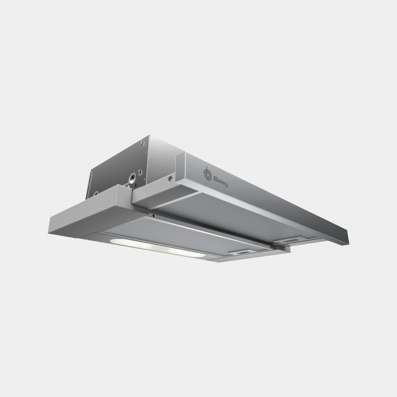Balay 3bt263mx campana extensible inox de 370 m3h