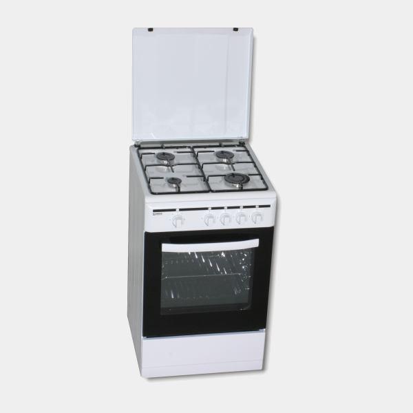Rommer vch455 cocina de gas butano 85x50 4 fuegos for Cocina gas butano edesa
